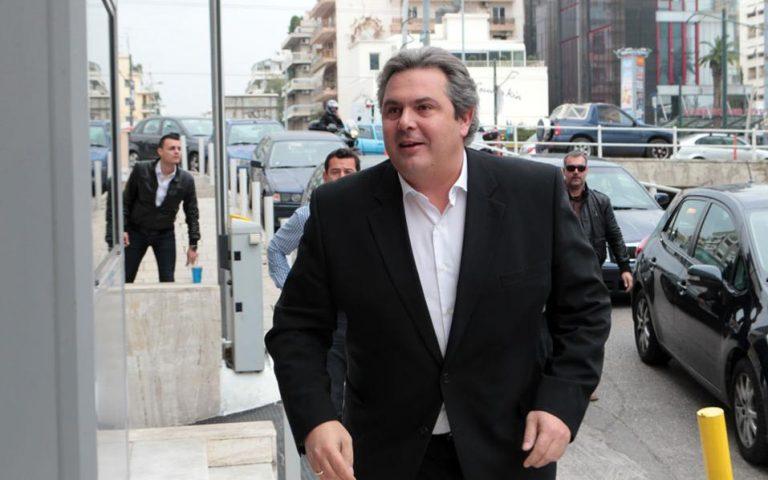 Ολοκληρώθηκε η επίσκεψη Καμμένου στην Κύπρο