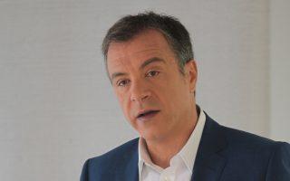 Ο κ. Στ. Θεοδωράκης εξετάζει τη μελλοντική θέση του κόμματός του, θέτοντας ορισμένες προτεραιότητες.