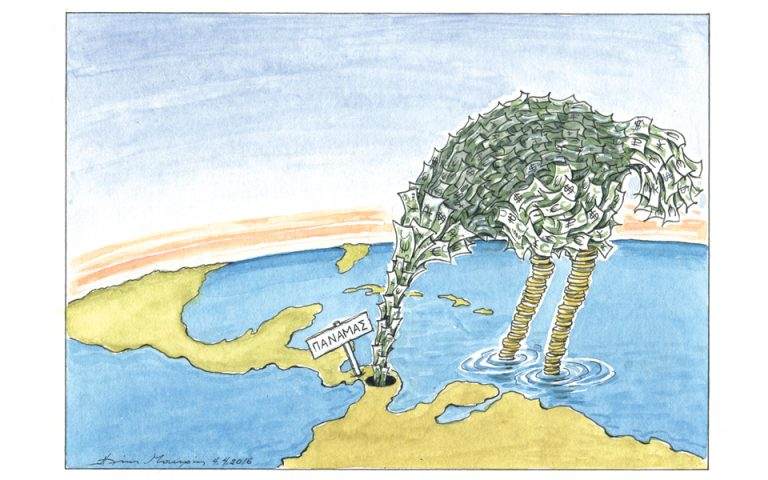 Σκίτσο του Ηλία Μακρή (05.04.16)