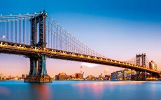 Brooklyn Bridge, Νέα Υόρκη, ΗΠΑ (Φωτογραφία: Shutterstock)