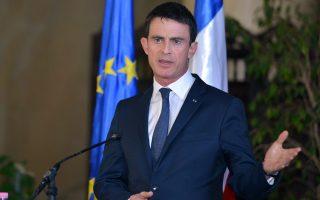 Σκοπός του Γάλλου πρωθυπουργού Μανουέλ Βαλς, να επιστρέψει στη χώρα του με υπογραφές συμβάσεων.