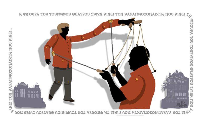 Σκίτσο του Δημήτρη Χαντζόπουλου (19.04.16)