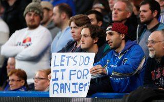 «Ας το κάνουμε για τον Ρανιέρι», προέτρεπαν τους παίκτες οι φίλαθλοι της Λέστερ.