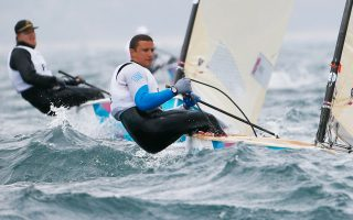 O Γιάννης Μιτάκης εκπροσωπεί την Ελλάδα στο παγκόσμιο πρωτάθλημα των Φινν στην Γκαέτα της Ιταλίας.