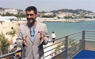Ο Ορέστης Ανδρεαδάκης, παλαιότερα στις Κάννες. Ξαναβρέθηκε στη γαλλική πόλη, ως διευθυντής, πλέον, του Φεστιβάλ Κινηματογράφου Θεσσαλονίκης.