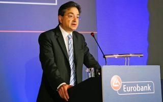 Ο διευθύνων σύμβουλος της Eurobank, Φωκίων Καραβίας.