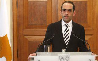 Ο υπουργός Οικονομικών της Κύπρου Χ. Γεωργιάδης.