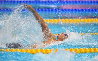 Μεγάλη διάκριση για τον Χρήστου στο ευρωπαϊκό κολύμβησης, στα 100 μ. υπτίως.
