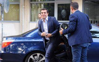 Το αργότερο έως την Παρασκευή θα συνεδριάσει η Πολιτική Γραμματεία του ΣΥΡΙΖΑ με θέμα τις αποκρατικοποιήσεις. Στη φωτογραφία, ο πρωθυπουργός προσερχόμενος σε προηγούμενη συνεδρίαση του οργάνου.