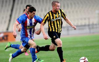 Η ΑΕΚ υποδέχεται τον Πανιώνιο σε εξ αναβολής αναμέτρηση της 2ης αγωνιστικής των πλέι οφ.