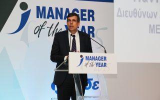 Ο επικεφαλής της Metro AEBE  κ. Αρ. Παντελιάδης ανακηρύχθηκε Manager of the Year 2015.