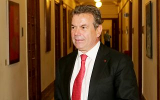 Ο υφυπουργός Εργασίας και Κοινωνικής Ασφάλισης κ. Τάσος Πετρόπουλος.