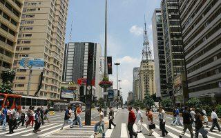 Η μέση τιμή πώλησης νεόδμητων διαμερισμάτων στο Σάο Πάολο αγγίζει τα 2.250 ευρώ/τ.μ.