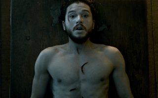 Ο εμφανώς... αναζωογονημένος Τζον Σνόου από το «Game of Thrones».