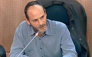 Ο γενικός γραμματέας Δημοσιονομικής Πολιτικής, Φρ. Κουτεντάκης.