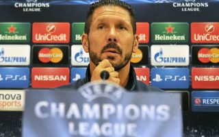Ο προπονητής της Ατλέτικο, Ντιέγκο Σιμεόνε.