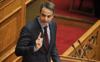 Ο κ. Μητσοτάκης μετά το κλείσιμο των εσωτερικών μετώπων στο κόμμα και, κυρίως, το σταθερό δημοσκοπικό προβάδισμά του εισέρχεται σε φάση αντιπαράθεσης με τον κ. Αλ. Τσίπρα.