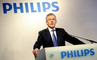 Στόχος του διευθύνοντος συμβούλου της Philips, Φρανς Βαν Χούτεν, είναι να επικεντρωθεί ο όμιλος στην αγορά ειδών ιατροφαρμακευτικής περίθαλψης, που περιλαμβάνει από σαρωτές ή σκάνερ μέχρι οδοντόβουρτσες.