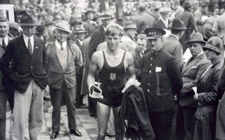 Στους Αγώνες του Λος Αντζελες έγραψε με χρυσά γράμματα το όνομά του στην ολυμπιακή ιστορία.
