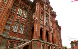 Η Πατριαρχική Μεγάλη του Γένους Σχολή στην Κωνσταντινούπολη.