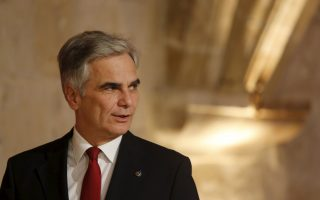 Austrian Chancellor Werner Faymann attends the Valletta Summit on Migration in Valletta, Malta, November 12, 2015. REUTERS/Darrin Zammit Lupi   MALTA OUT. NO COMMERCIAL OR EDITORIAL SALES IN MALTA