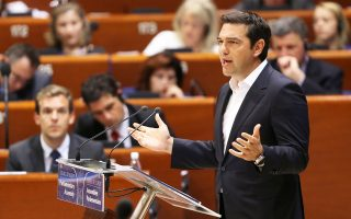 Ενδεικτικό της κρίσης που μαστίζει την Ε.Ε. χαρακτήρισε το βρετανικό δημοψήφισμα ο Αλ. Τσίπρας, κατά τη χθεσινή ομιλία του στην ολομέλεια της κοινοβουλευτικής συνέλευσης του Συμβουλίου της Ευρώπης.