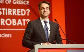 Ο Κυρ. Μητσοτάκης, από το βήμα του Economist, τόνισε ότι οι θεσμικές παρεμβάσεις δεν πρέπει να γίνονται αντικείμενο εκμετάλλευσης για την επίτευξη «εφήμερων κομματικών κερδών».