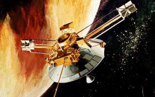 Το 1973, το διαστημόπλοιο «Βόγιατζερ» πραγματοποίησε πέρασμα από τον Δία.