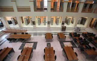 Η βιβλιοθήκη του ιδρύματος στη Θεσσαλονίκη θα παραμείνει στη... θέση της για τουλάχιστον 25 χρόνια ακόμη, καθώς η πολιτεία παραχωρεί δωρεάν τον χώρο όπου είναι εγκατεστημένο το πανεπιστήμιο.