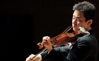 Το πρώτο Κοντσέρτο για βιολί του Νικολό Παγκανίνι ερμήνευσε ο έξοχος 27χρονος Αμερικανο-ιάπωνας βιολονίστας Ριου Γκότο.