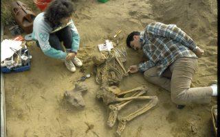 Από την Ελεύθερνα της Κρήτης μέχρι τους σκελετούς των Ινδιάνων της Β. Αμερικής του 900 μ.Χ., ο Αναγνώστης Αγελαράκης (στη φωτ., σε παλαιότερη ανασκαφή) έχει σκύψει με απέραντο σεβασμό πάνω σε λείψανα, προσπαθώντας να καταλάβει τον τρόπο που έζησαν αλλά και πέθαναν οι άνθρωποι αυτοί.
