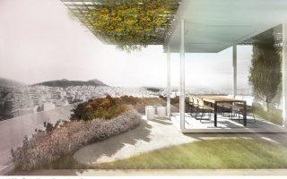 Ο αρχιτέκτονας Αλέξανδρος Κιτρινιάρης και η αρχιτέκτονας τοπίου Αγγελική Παρασκευοπούλου αναδιαμορφώνουν ένα διαμέρισμα στην Κυψέλη, σύμφωνα με τις αρχές του βιοκλιματικού σχεδιασμού.
