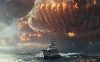 Η επιστημονική φαντασία μετατράπηκε σε blockbuster «καταστροφής» στην «Ημέρα Ανεξαρτησίας: νέα απειλή» του Ρόλαντ Εμεριχ. Η Γη ξαναμπαίνει στο μάτι του εξωγήινου κυκλώνα.