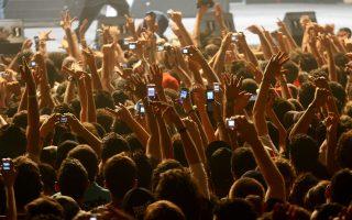 Τα επόμενα χρόνια η μαγνητοσκόπηση με τα κινητά στις συναυλίες δεν θα είναι μια πολύ εύκολη υπόθεση.