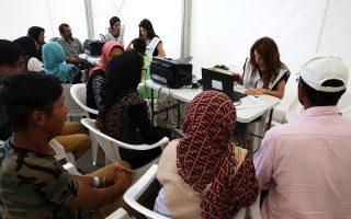 Για την εφαρμογή της συμφωνίας Ε.Ε. - Τουρκίας η Υπηρεσία Ασύλου αναπτύσσει στα νησιά μεικτά κλιμάκια εξέτασης αιτήσεων, μαζί με το Ευρωπαϊκό Γραφείο Υποστήριξης Ασύλου.