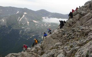 Ανάταση ψυχής επιφυλάσσει η ανάβαση στον Ολυμπο, το βουνό των θεών, σε κάθε μυημένο και αμύητο ορειβάτη.