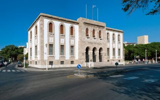 Tο Kατάστημα Pόδου της Tράπεζας της Eλλάδος, όπου από τις 8 Iουλίου θα φιλοξενείται η έκθεση.