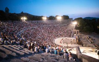 Με 16.000 εισιτήρια έκανε «πρεμιέρα» ο «Πλούτος», εγκαινιάζοντας τη θεατρική περίοδο στο Αρχαίο Θέατρο Επιδαύρου.