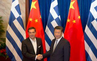 «Είμαστε πεπεισμένοι ότι για την Ελλάδα αρχίζει ένα καλύτερο μέλλον», είπε ο πρόεδρος της Κίνας, Σι Τζινπίνγκ, κατά τη συνάντησή του με τον Ελληνα πρωθυπουργό Αλέξη Τσίπρα.