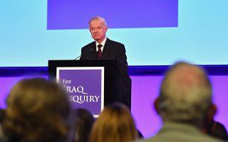 Ο σερ Τζον Τσίλκοτ, πρόεδρος της επιτροπής εργασιών, παρουσίασε χθες στο Λονδίνο τα κύρια ευρήματα.