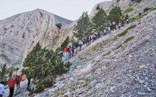 «Στο βουνό ψηλά εκεί» η συστράτευση εθελοντών δοτών Σαμαρειτών του EEΣ, ορειβατών, μεταμοσχευμένων ασθενών, γιατρών, νοσηλευτών είχε στόχο, όχι μόνο την ανάβαση στον Mύτικα αλλά...