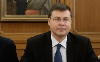Ο αντιπρόεδρος της Ευρωπαϊκής Επιτροπής, Β. Ντομπρόβσκις, είπε πως σε 20 ημέρες θα αποφασιστεί το ύψος του προστίμου αλλά και το πάγωμα της ευρωπαϊκής χρηματοδότησης μέσω των διαρθρωτικών ταμείων.