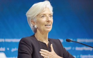 Η Κριστίν Λαγκάρντ , κατά την πρώτη συνέντευξη που έδωσε μετά την έναρξη της δεύτερης πενταετούς θητείας της ως επικεφαλής του ΔΝΤ, είπε ότι το Ταμείο θα πρέπει να εξετάσει με πολύ πιο προσεκτικό τρόπο θέματα όπως η εισοδηματική ανισότητα, ώστε να αλλάξει η αρνητική εικόνα που έχει σχηματίσει ο κόσμος γι' αυτό.