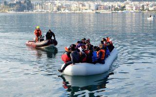 Τις πρώτες δέκα ημέρες του Ιουλίου καταγράφηκαν 345 νέες αφίξεις μεταναστών και προσφύγων στην Ελλάδα, αυξάνοντας τον αριθμό όσων παραμένουν στα νησιά και περιμένουν να ολοκληρωθούν οι διαδικασίες σε 8.475 άτομα.