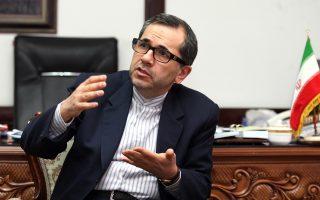 Ο υφυπουργός Εξωτερικών του Ιράν Ματζίντ Ταχτ ε Ραβαντσί.
