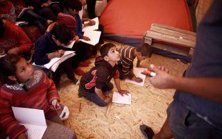 «Ο κοινός παρονομαστής είναι να μη δημιουργηθούν οι συνθήκες που θα οδηγήσουν σε μια μορφή γκέτο», τόνισε ο κ. Φίλης για την ένταξη των προσφυγόπουλων στα ελληνικά σχολεία.