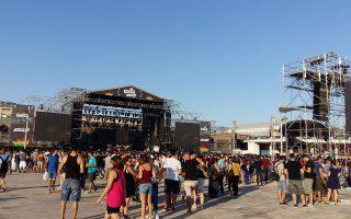 Η συναυλία των Muse στο Eject Festival προσείλκυσε μεγάλο πλήθος.