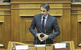 «Το ζήτημα δεν είναι ο Βαρουφάκης, το ζήτημα είναι ο ίδιος ο Τσίπρας», τόνισε χθες ο κ. Μητσοτάκης.