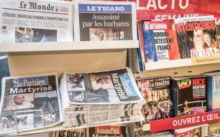 Τα γαλλικά μέσα ενημέρωσης αναζητούν τον σωστό τρόπο ενημέρωσης χωρίς την τρομοκράτηση της κοινής γνώμης.