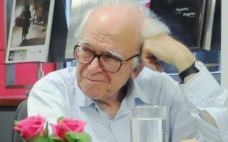 Ο αείμνηστος Χαράλαμπος Μπούρας. Φωτογραφία από το αρχείο του καθηγητή Αλέξανδρου Παπαγεωργίου-Βενετά.